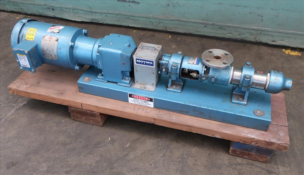 Pump Moyno progressive cavity pump model 3M1-SSJ-3AAA, 1/2 hp, Stainless Steel1