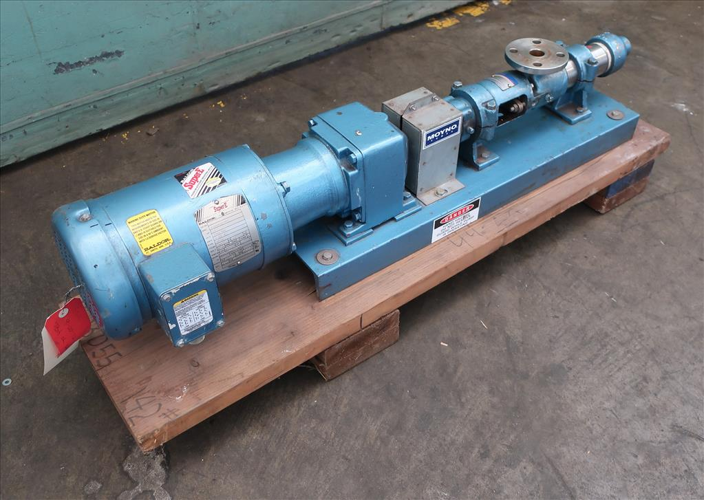 Pump Moyno progressive cavity pump model 3M1-SSJ-3AAA, 1/2 hp, Stainless Steel2