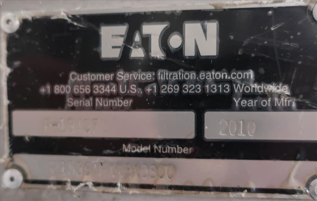 Filtration Equipment 4 x 36 Eaton basket strainer (single), model S21536AFXXBX0800, Stainless Steel4