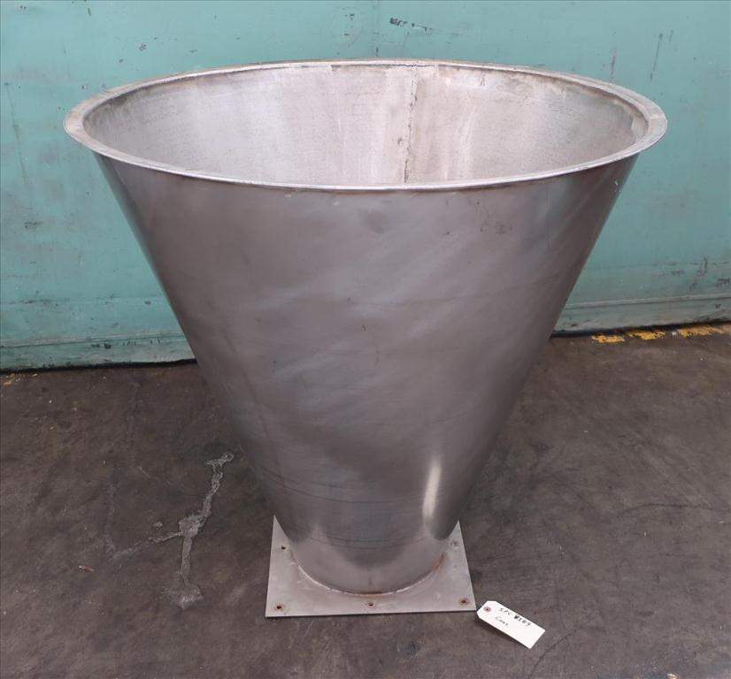 Miscellaneous Equipment Cone, 9.76 cu.ft., Stainless Steel