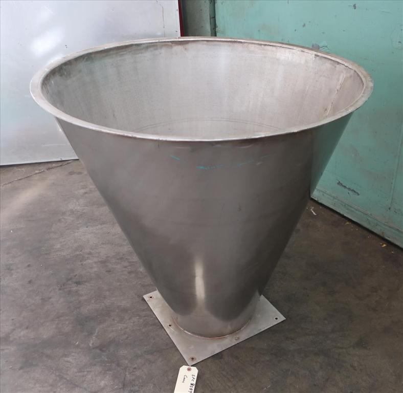 Miscellaneous Equipment Cone, 9.76 cu.ft., Stainless Steel3