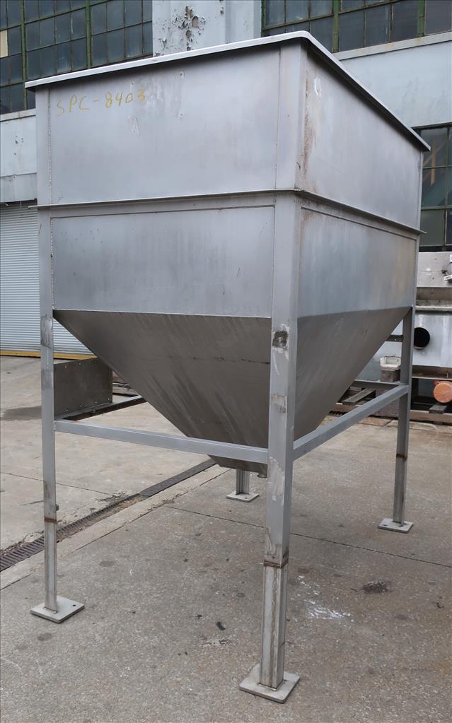 Bin 84 cu.ft., bulk storage bin, Stainless Steel4