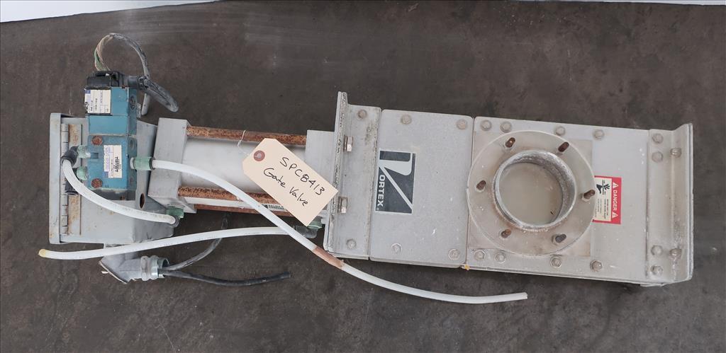 Valve 4 Salina Vortex gate valve, pneumatic, Stainless Steel Contact Parts1
