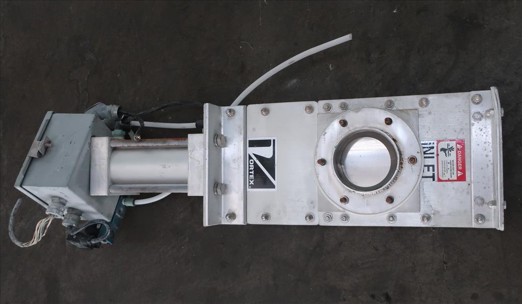 Valve 4 Salina Vortex gate valve, pneumatic, Stainless Steel Contact Parts2