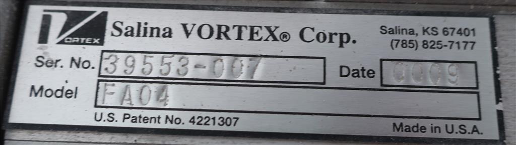 Valve 4 Salina Vortex gate valve, pneumatic, Stainless Steel Contact Parts3