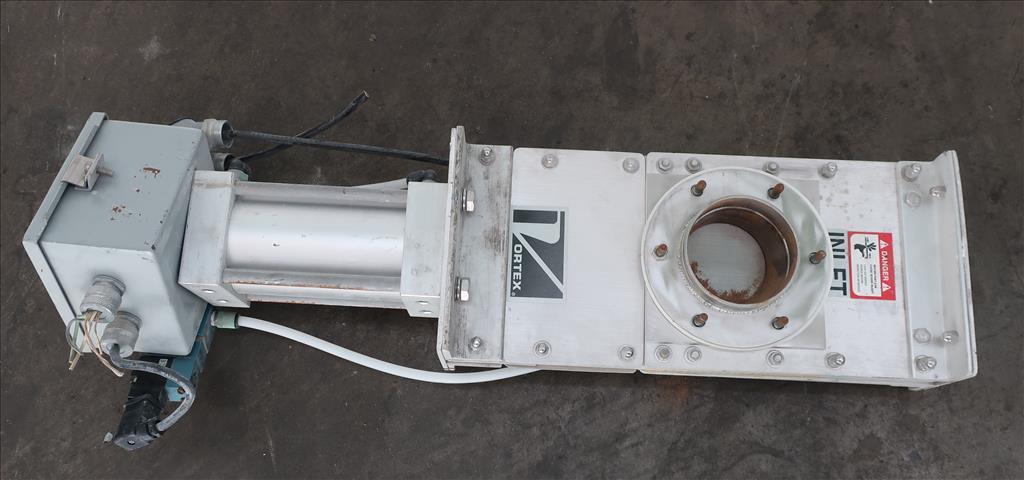 Valve 4 Salinia Vortex gate valve, pneumatic, Stainless Steel Contact Parts2