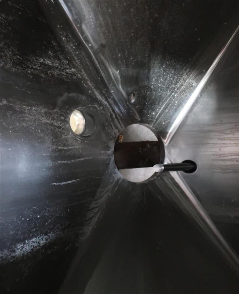 Bin 23.8 cu.ft., bulk storage bin, Stainless Steel6