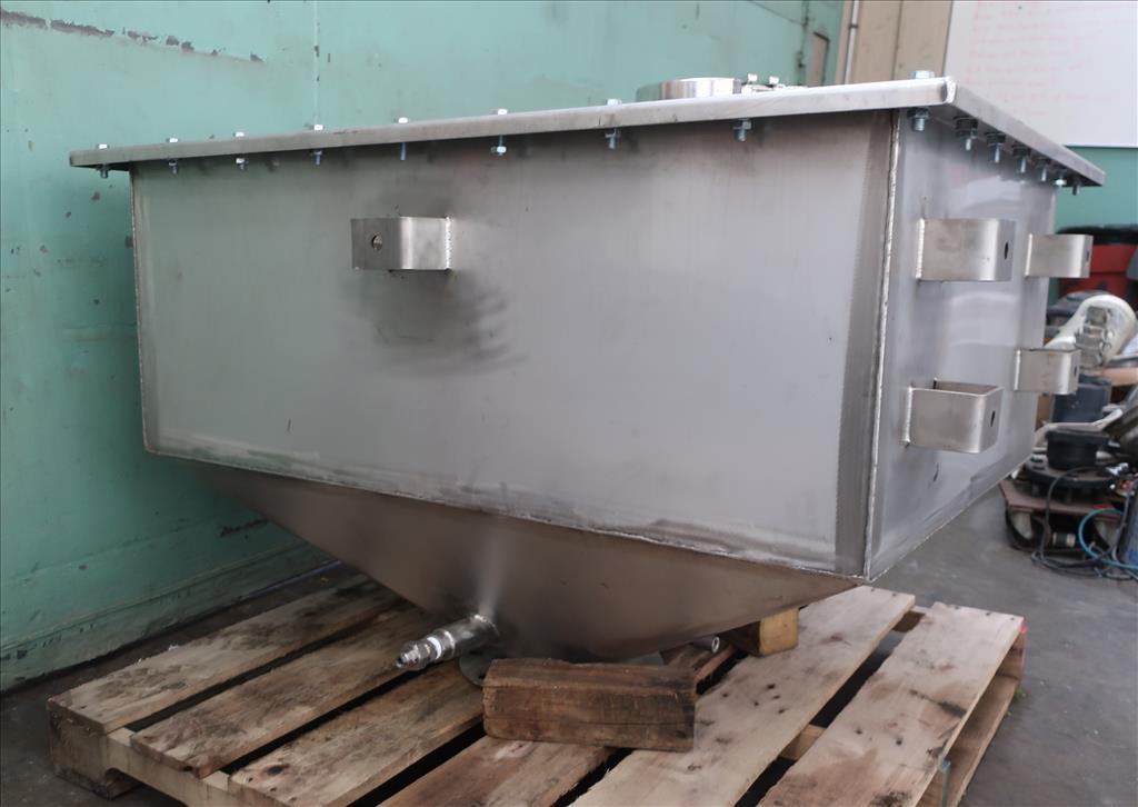 Bin 23.8 cu.ft., bulk storage bin, Stainless Steel7
