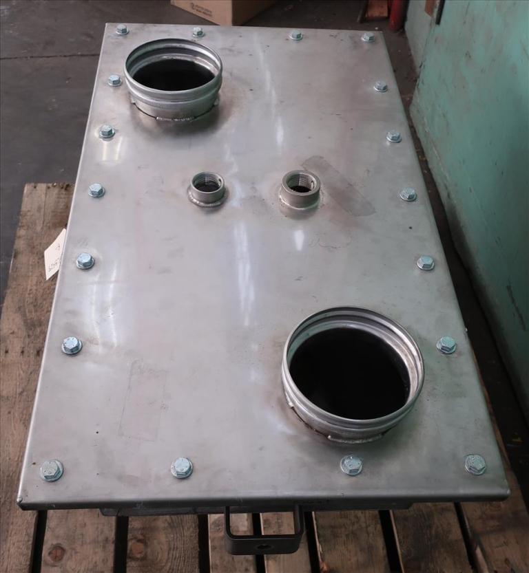 Bin 5.33 cu.ft., bulk storage bin, Stainless Steel5