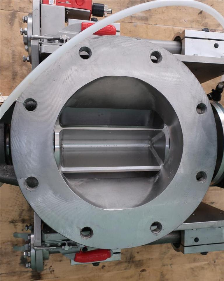 Valve 8 Stainless Steel Ancaster Conveying Systems rotary airlock feeder model MD 8 QC-R-SS, Sanitary quick clean4
