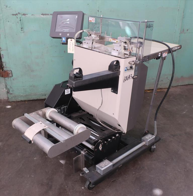 Bagger Autobag pre-formed bagger model AB 255, 4 to 16 wide x 5 to 27 long bags, Up to 55 bpm1