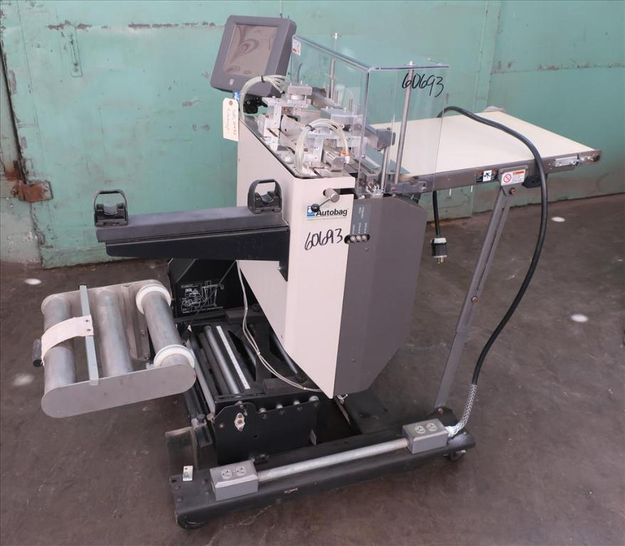 Bagger Autobag pre-formed bagger model AB 255, 4 to 16 wide x 5 to 27 long bags, Up to 55 bpm5