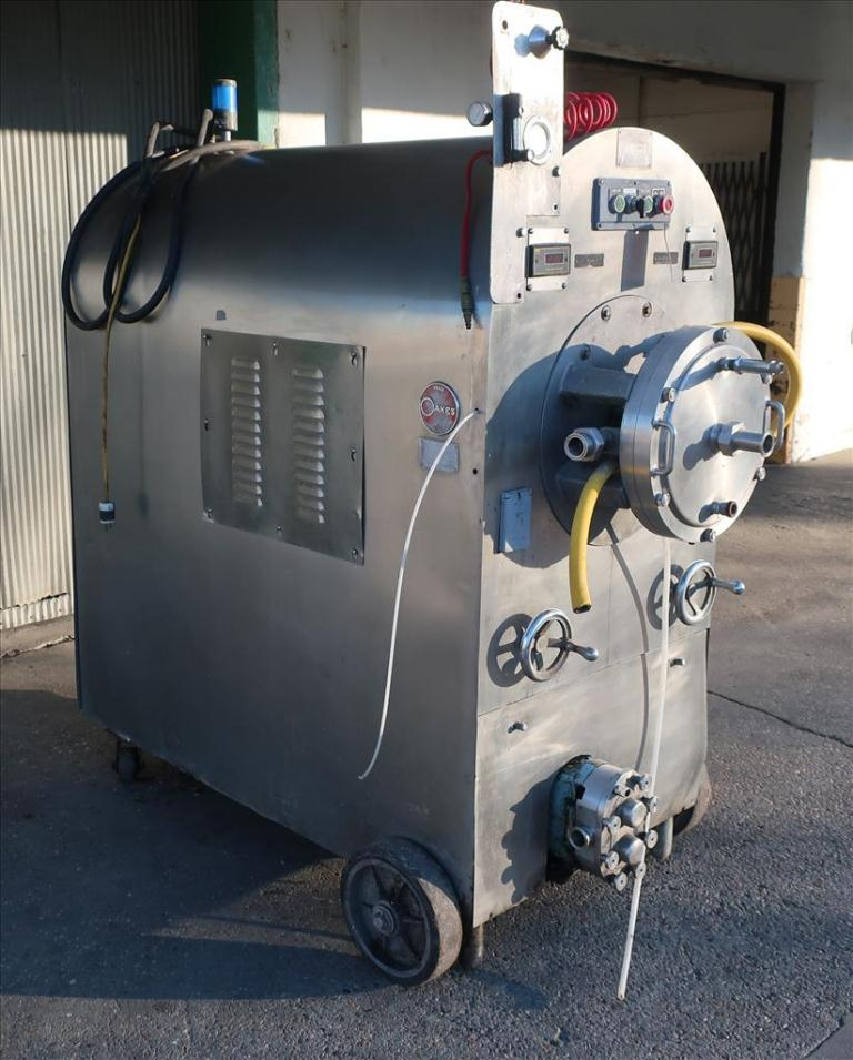 Mixer and Blender Oakes continuous mixer model 14MC20, 20 hp, Stainless Steel