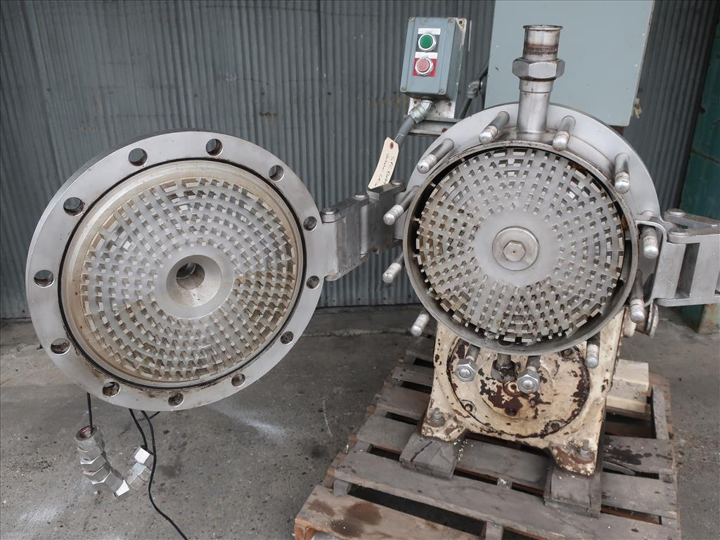 Mixer and Blender 30 hp Votator emulsifier mixer, model CR16, Stainless Steel Contact Parts4