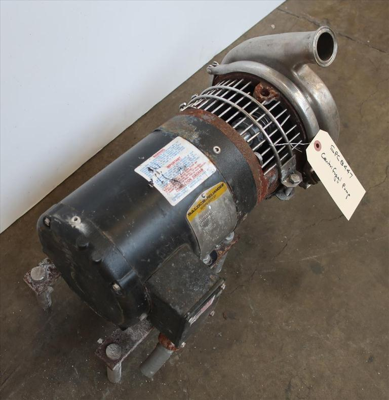 Pump Tri-Clover centrifugal pump, 1 hp, Stainless Steel2