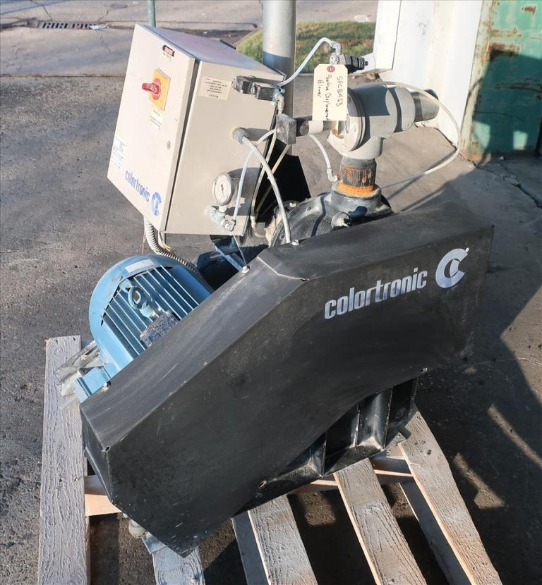 Blower positive displacement blower Colortronic/Roots, 10 hp2