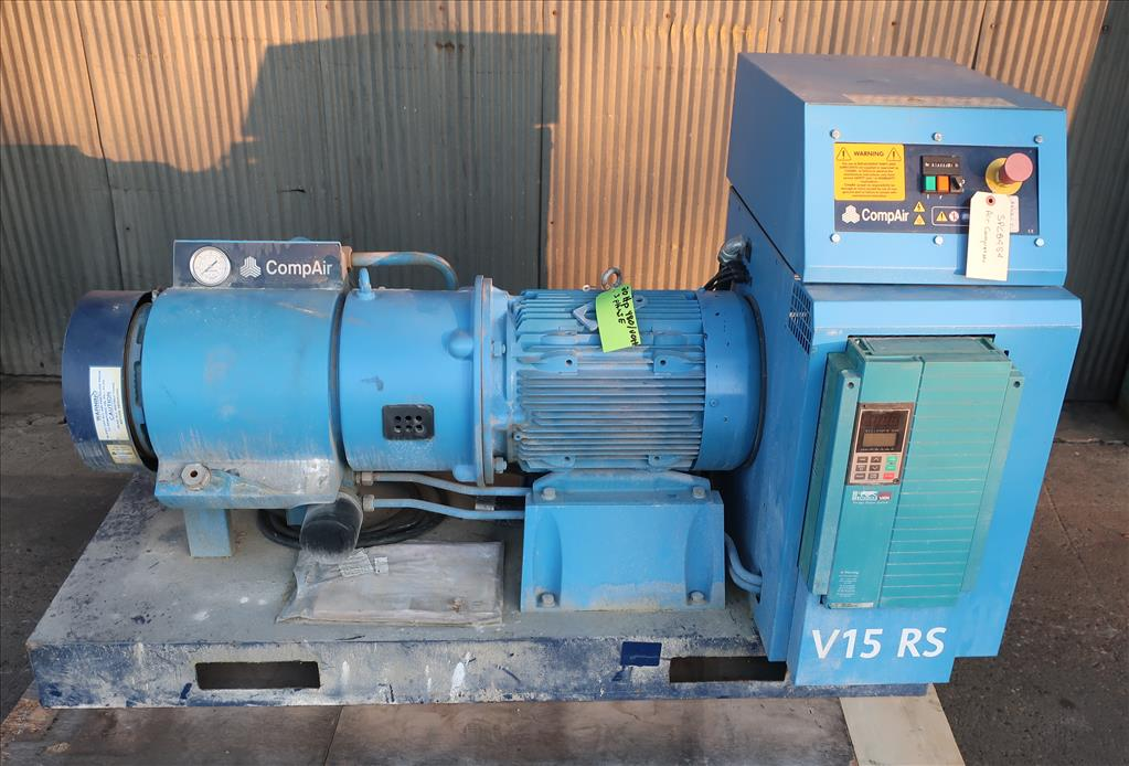 Compressor 20 hp compare air compressor model V15 RS, Up to 80 cfm, variable speed1