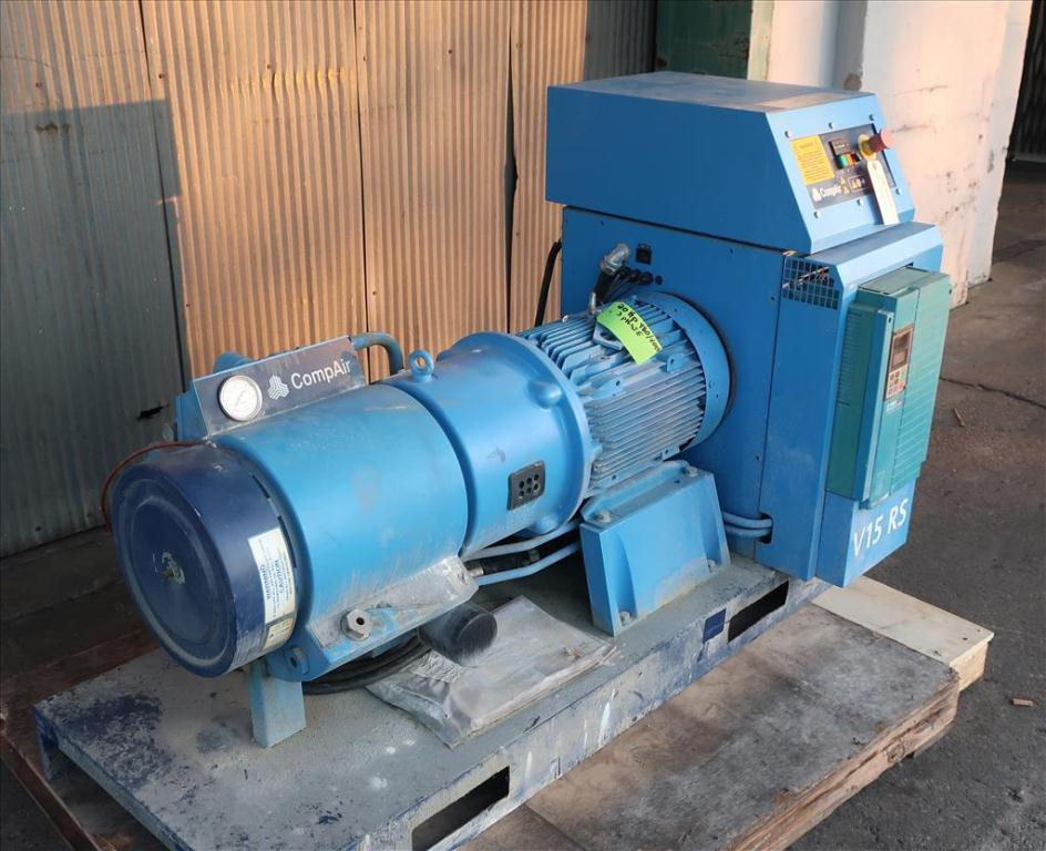 Compressor 20 hp compare air compressor model V15 RS, Up to 80 cfm, variable speed2