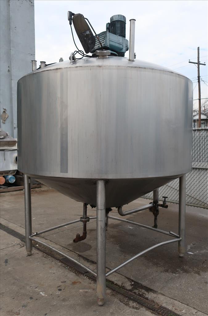 Kettle 1000 gallon Walker processor kettle, agitator Top mount, 15 psi jacket rating, Stainless Steel4