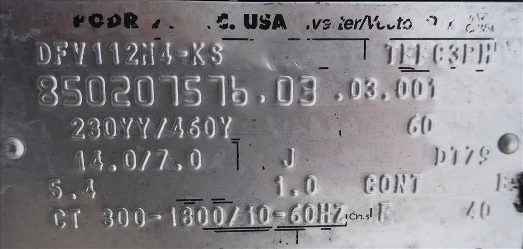 Kettle 1000 gallon Walker processor kettle, agitator Top mount, 15 psi jacket rating, Stainless Steel9