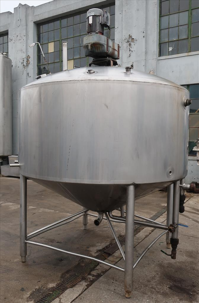 Kettle 1000 gallon Walker processor kettle, agitator top mount, 15 psi psi jacket rating, 304 SS3