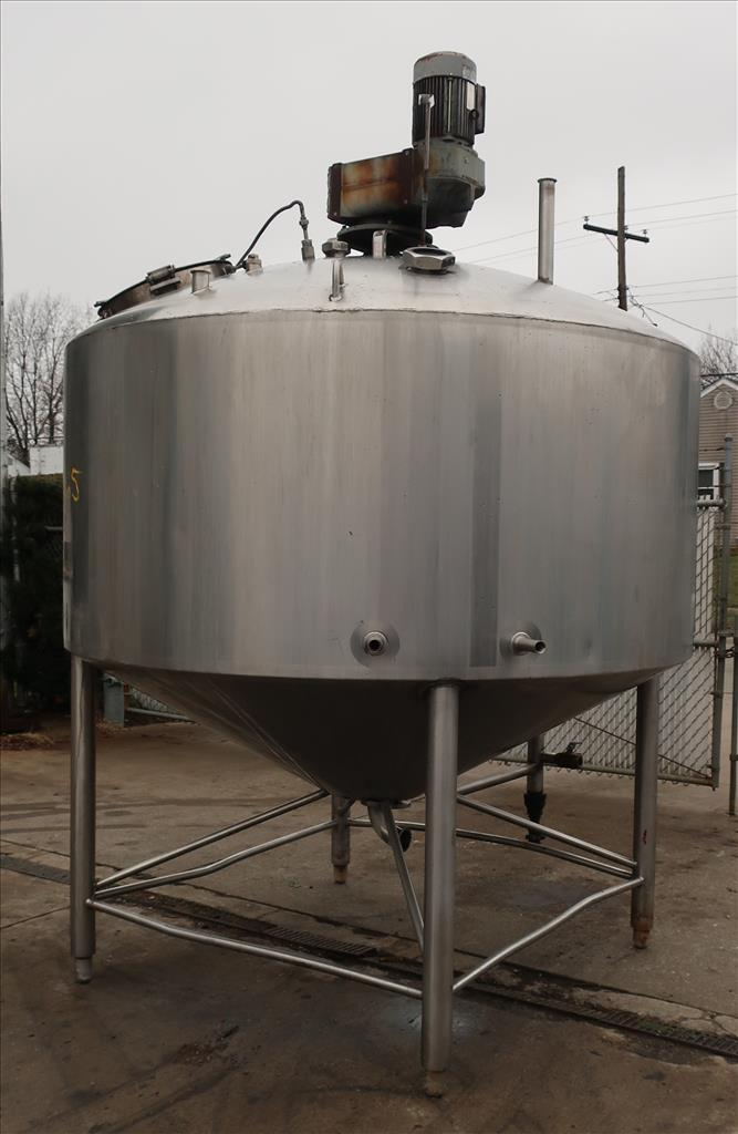 Kettle 1000 gallon Walker processor kettle, agitator top mount, 15 psi psi jacket rating, 304 SS4