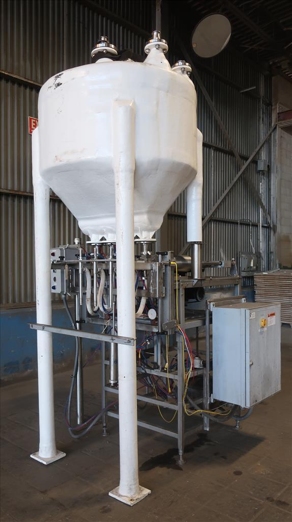 Filler 4 piston Simplex piston filler adjustable to 6 centers1