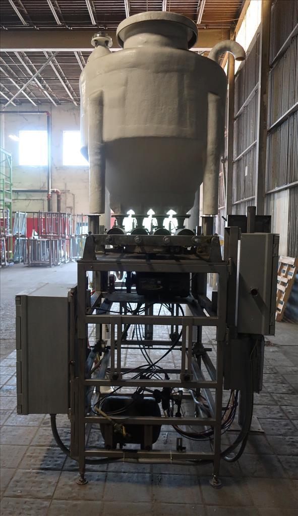 Filler 4 piston Simplex piston filler adjustable to 6 centers4