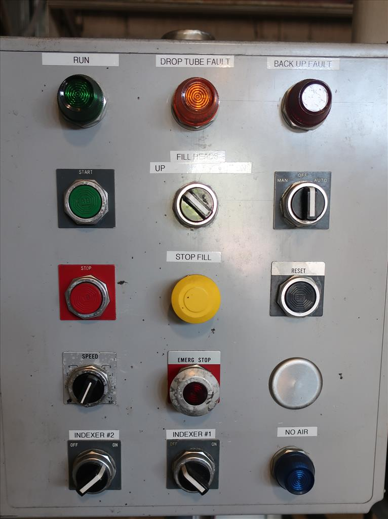 Filler 4 piston Simplex piston filler adjustable to 6 centers9