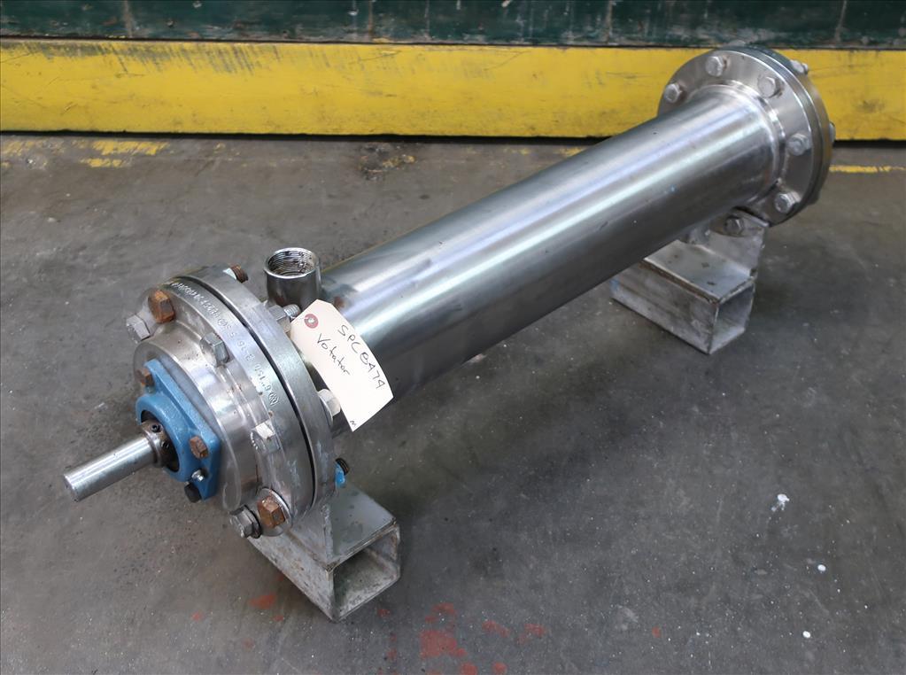 Miscellaneous Equipment Votator agitated holding unit, 6 dia. x 35.5 l tube2