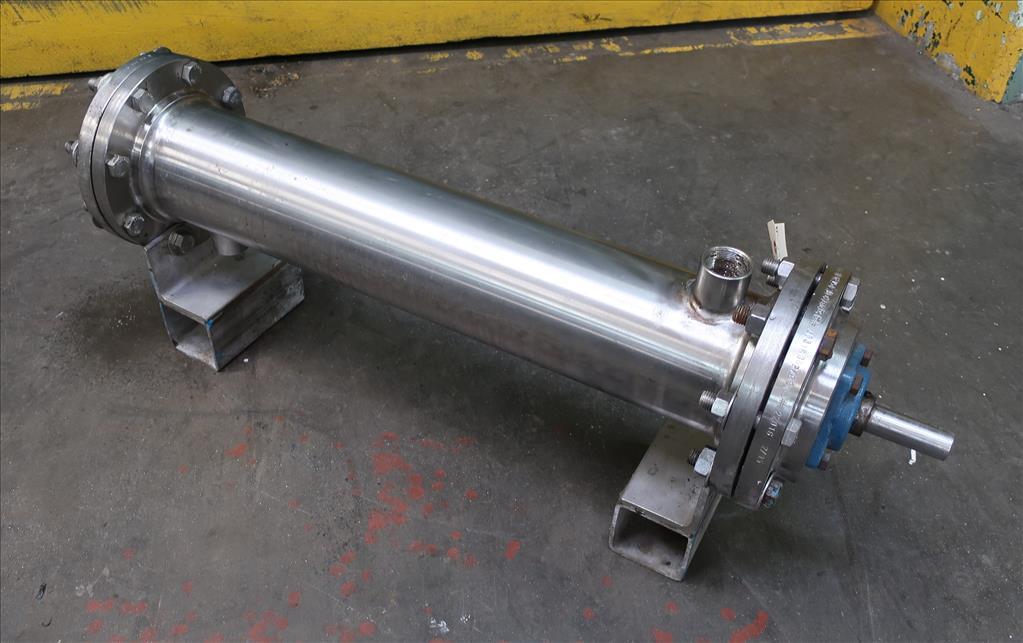 Miscellaneous Equipment Votator agitated holding unit, 6 dia. x 35.5 l tube3