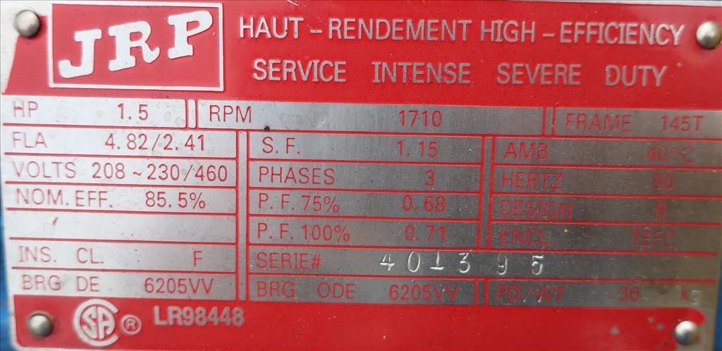 Conveyor Continental Conveyor screw conveyor model TD-123-0016D, Stainless Steel, 9dia. x 144long6