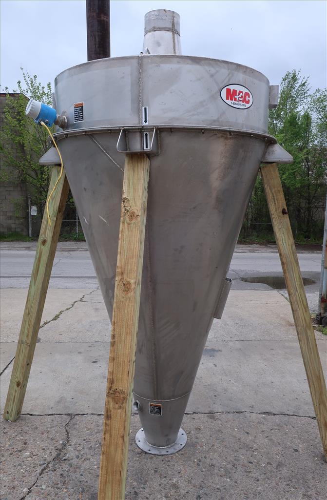 Bin 38 cu.ft., bulk storage bin, Stainless Steel1