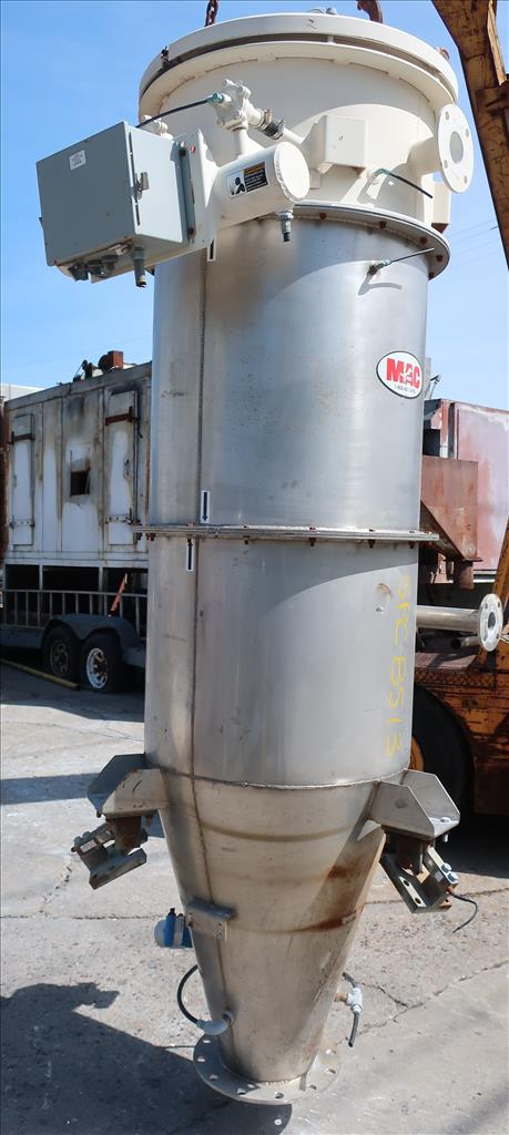 Dust Collector 118.3 sq.ft. MAC reverse pulse jet dust collector3