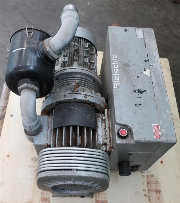 Pump 300  m3/hr flow rate Rietschie vacuum pump model VC300 10 hp3