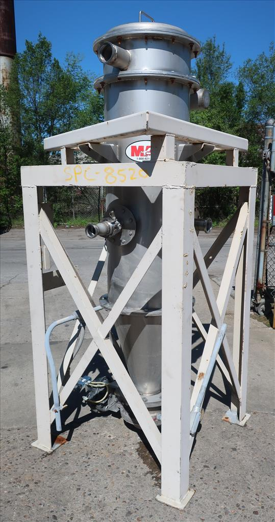 Dust Collector 50.7 sq.ft. MAC reverse pulse jet dust collector
