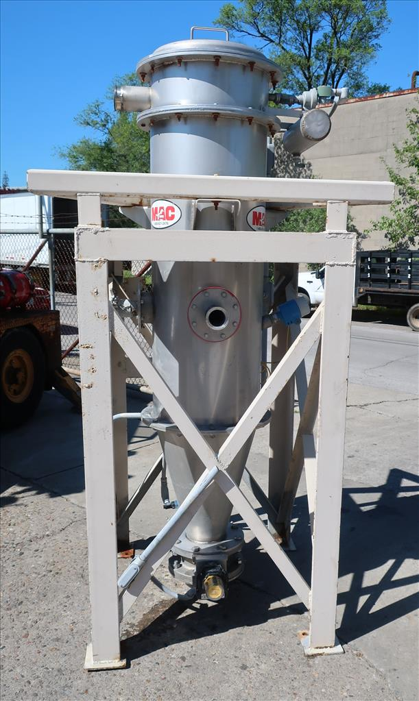 Dust Collector 50.7 sq.ft. MAC reverse pulse jet dust collector2