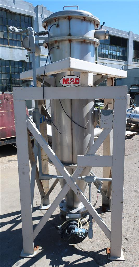 Dust Collector 50.7 sq.ft. MAC reverse pulse jet dust collector4