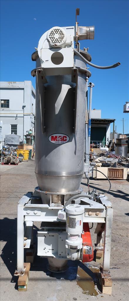 Material Handling Equipment bag dump station, 40.25 x 28.5 x 98.25 MAC Stainless Steel3
