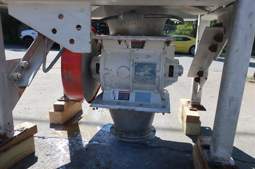 Material Handling Equipment bag dump station, 40.25 x 28.5 x 98.25 MAC Stainless Steel5