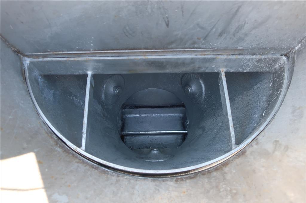 Material Handling Equipment bag dump station, 40.25 x 28.5 x 98.25 MAC Stainless Steel7