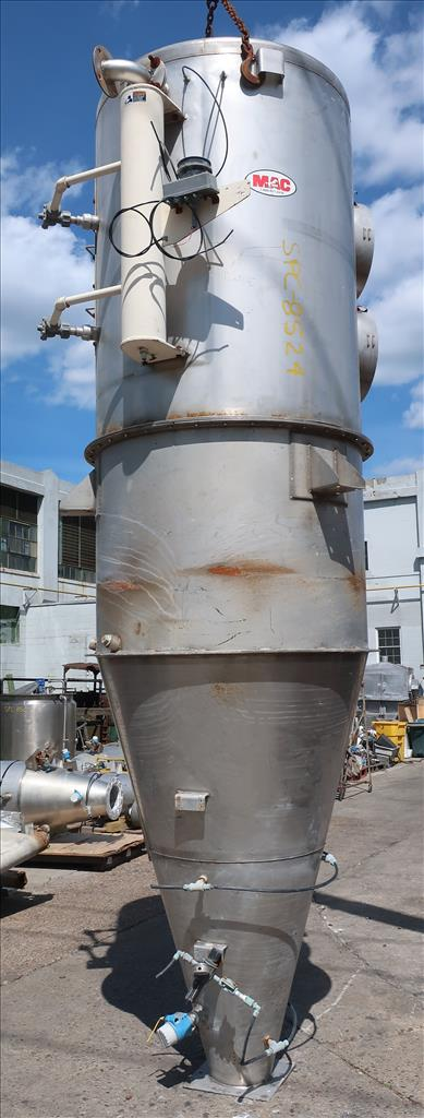 Dust Collector 590 sq.ft. MAC reverse pulse jet dust collector2