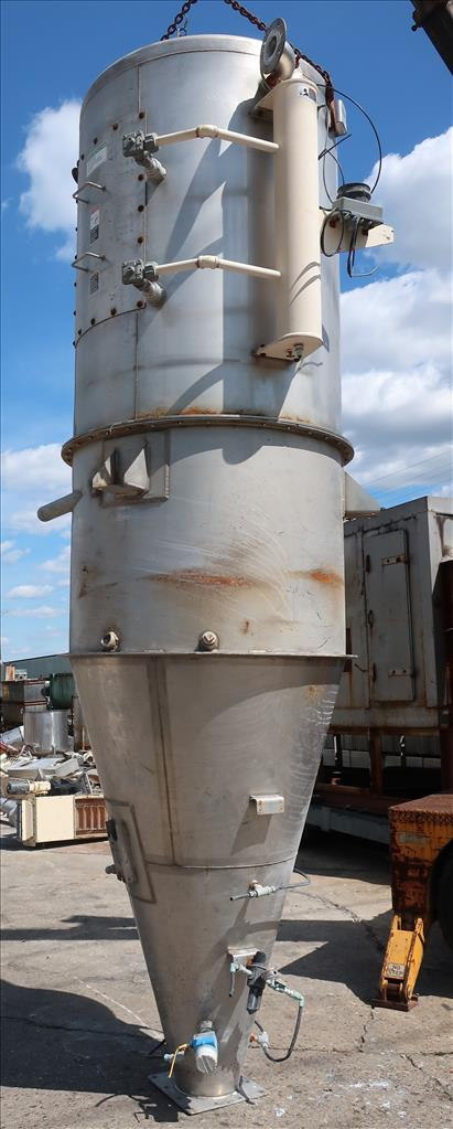 Dust Collector 590 sq.ft. MAC reverse pulse jet dust collector3
