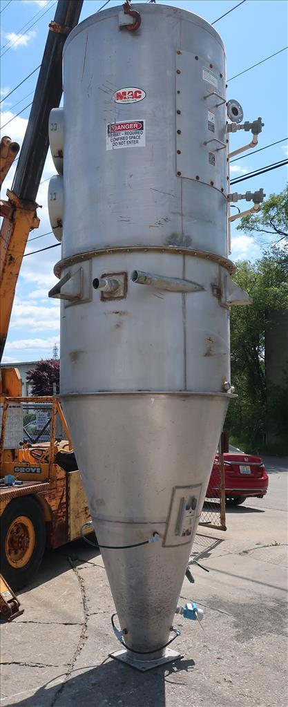 Dust Collector 590 sq.ft. MAC reverse pulse jet dust collector4