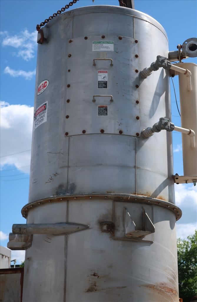Dust Collector 590 sq.ft. MAC reverse pulse jet dust collector7