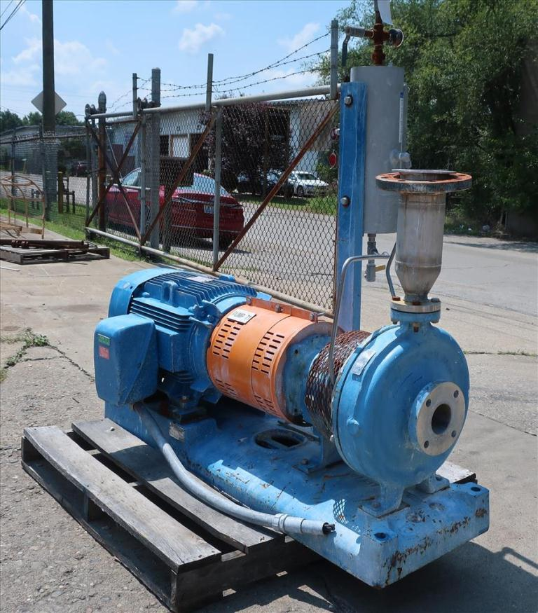 Pump 1.5 x 3 x 12 GOULDS centrifugal pump, 50 hp, CD41