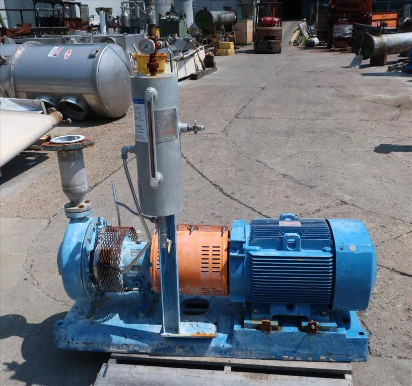 Pump 1.5 x 3 x 12 GOULDS centrifugal pump, 50 hp, CD43