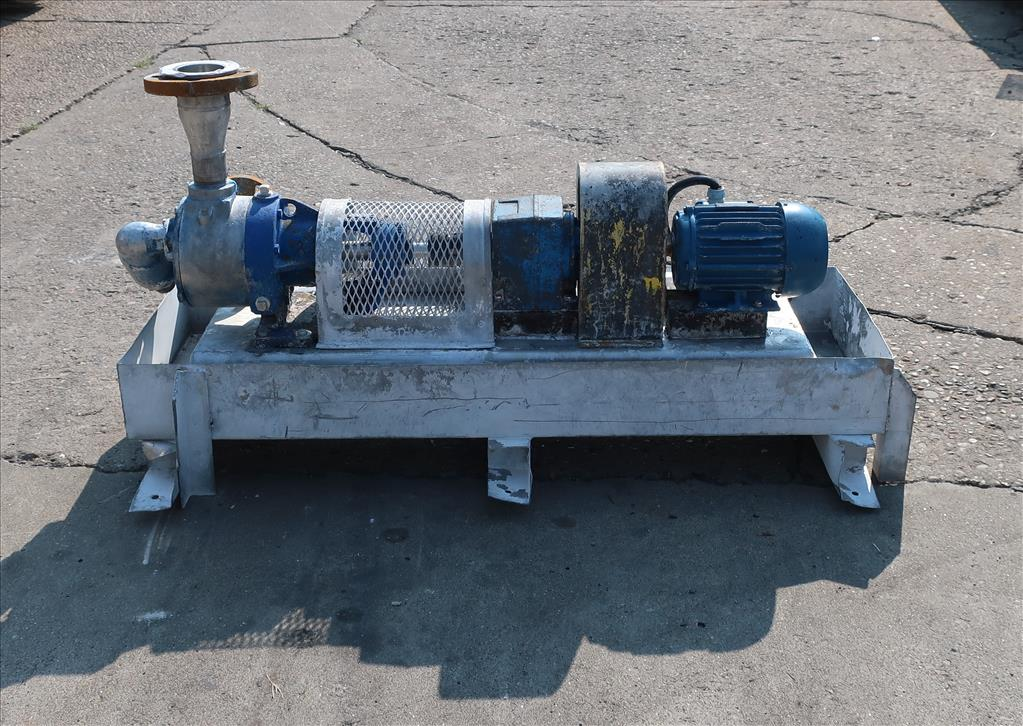 Pump 2 inlet Viking positive displacement pump model K4724, 1.0 hp, 316 SS4