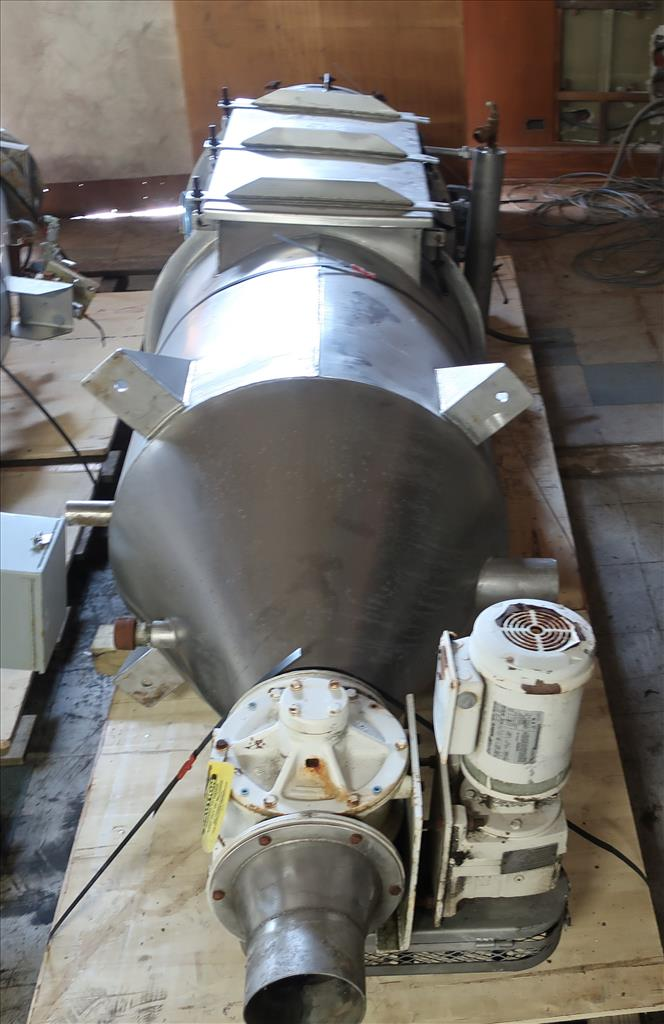 Dust Collector 68 sq.ft. Boedecker Co. reverse pulse jet dust collector 650 cfm