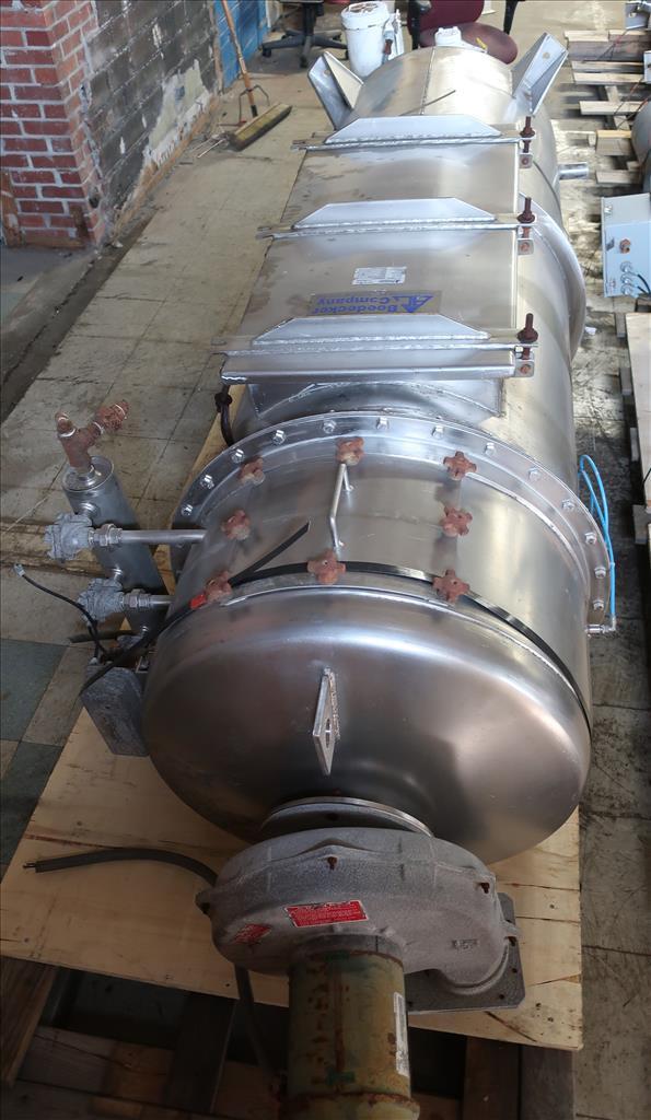Dust Collector 68 sq.ft. Boedecker Co. reverse pulse jet dust collector 650 cfm2